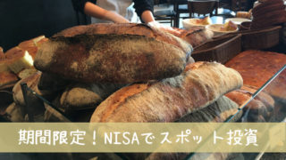 NISAスポット投資