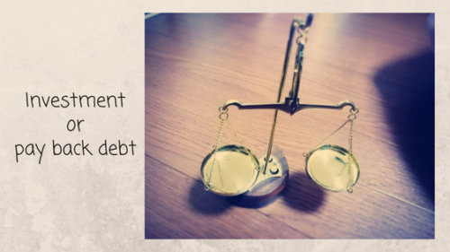 借金返済と投資、どちらが優先?繰り上げ返済より投資するべき2つの条件