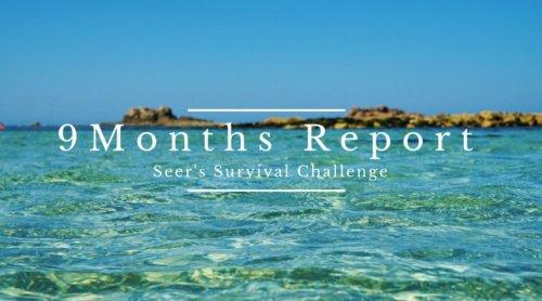 【ブログ運営9ヶ月】PV数・収益と、心構え。サブブログのお知らせ