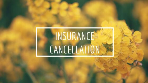 insurance cancellation