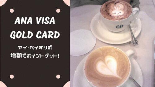 【ANA VISAワイドゴールドカード】初心者でも簡単!マイ・ペイすリボでマイルを増やそう!増額は毎月26...