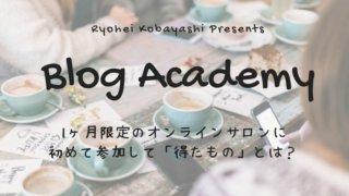 BlogAcademy