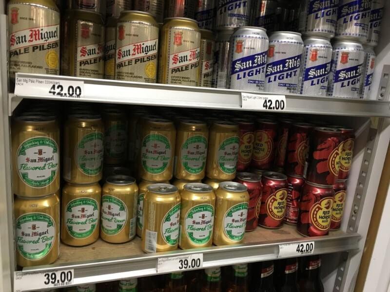 サンミゲルのビール1