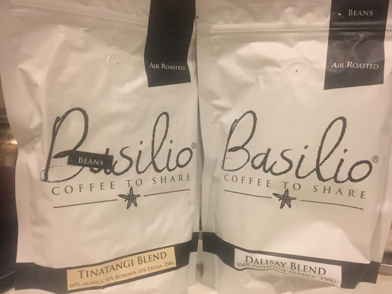 Basilioのコーヒー豆