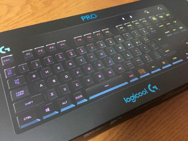 ロジクール PRO G-PKB-001