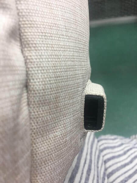 Nordace Siena|USBポートが行方不明(リュックの中にあった)