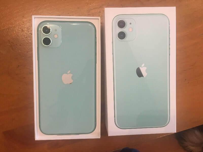iPhone11|グリーン128GB(正面)