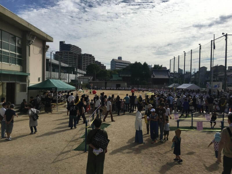 晴天の運動会|iPhone6Sで撮影