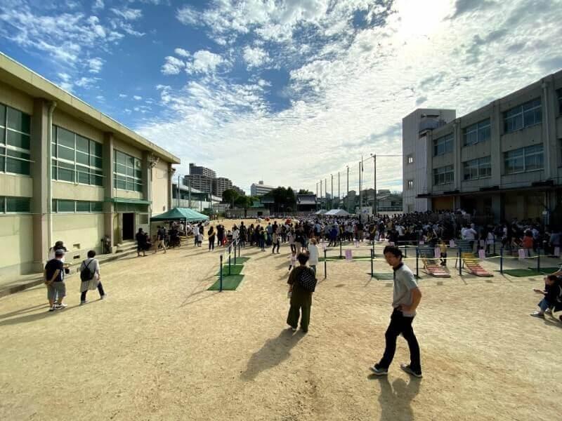 晴天の運動会|iPhone11で撮影(超広角レンズ)