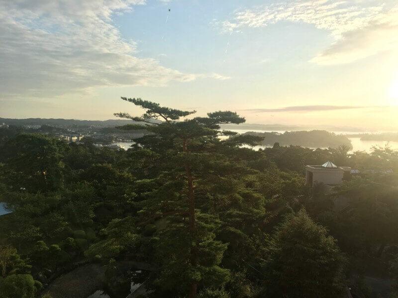 ホテル松島大観荘からの眺め