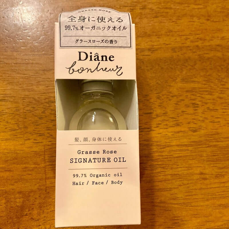 ダイアンボヌール(Diane bonheur)シグネチャーオイル パッケージ