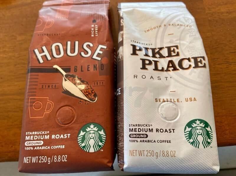 スタバ福袋2020|コーヒー豆2種(中挽き)